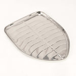 "Stainless Steel Banana Leaf Platter Large - 12"" x 15.5"""