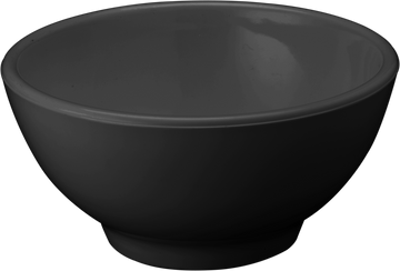 Melamine Round Bowl 12 inch, 202 Oz./ 6.3 Qts. Black, Pack of 3