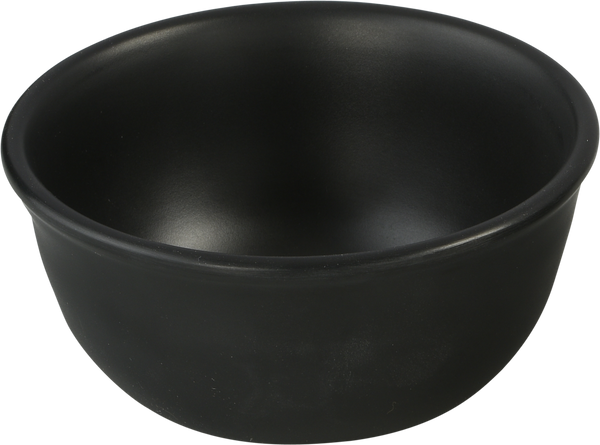 Melamine Persian Bowl/Katori 3.3 inch, 4.4 Oz. Black