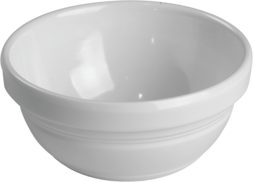 Melamine Ben Bowl 3.3 Oz. White, Pack of 12