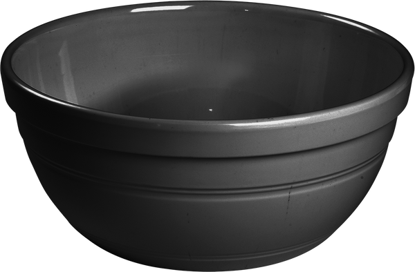 Melamine Ben Bowl 9 inch, 84.5 Oz. Black