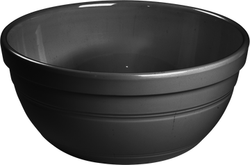 Melamine Ben Bowl 10.5 inch, 135 Oz. Black, Pack of 3