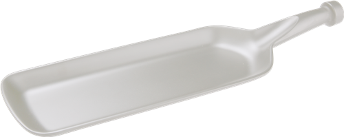 Melamine Bat Shaped Platter 14 inch x 4.1 inch,  Pack of 12