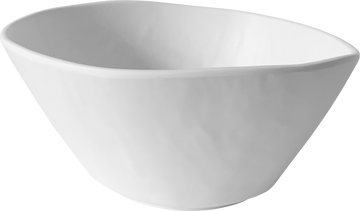 Melamine Dimple Bowl 6.5 inch, 25.4 Oz. White, Pack of 12