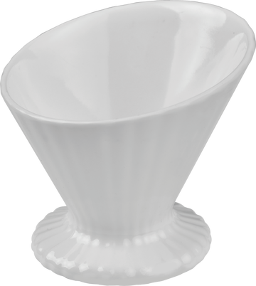 Melamine Ice Cream Cup 3.5 inch x 3.15 inch White, Pack of 12