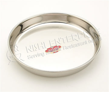 Stainless Steel Thali - 10 inch