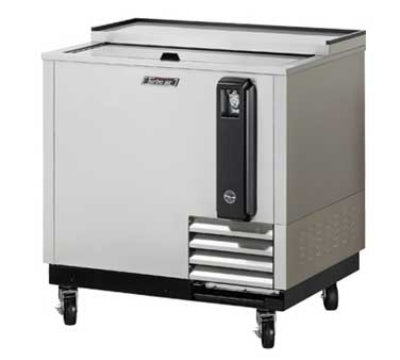 Turbo Air TBC-36SD 36-in Bottle Cooler With Sliding Door ,Stainless