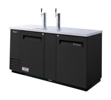 Turbo Air TBD-3SB 69-in Beer Dispenser With (3) 1/2-Barrel Capacity, Black