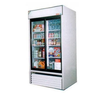 Turbo Air TGM-35R Refrigerated Merchandiser With Sliding Glass Doors