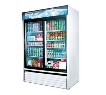 Turbo Air TGM-48R Refrigerated Merchandiser With Sliding Glass Doors