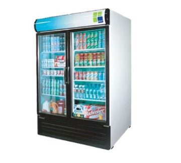 Turbo Air TGM-50RS Refrigerated Merchandiser With Swing Glass Doors