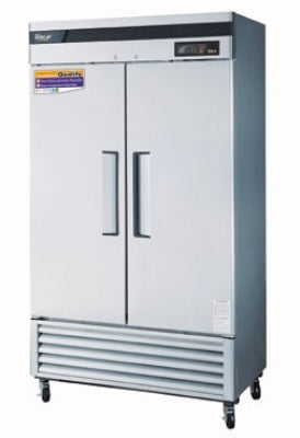 Turbo Air TSR-35SD-N6 Reach In Refrigerator With 2-Solid Door