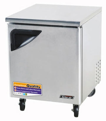 Turbo Air TUF-28SD-N Under counter Freezer With 1-Solid Door