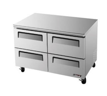 Turbo Air TUF-48SD-D4-N Under counter Freezer With 4-Drawers