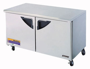 Turbo Air TUF-60SD-N Under counter Freezer With 2-Solid Door
