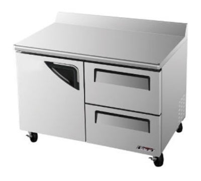 Turbo Air TWF-48SD-D2-N Worktop Freezer With Door & 2-Drawers