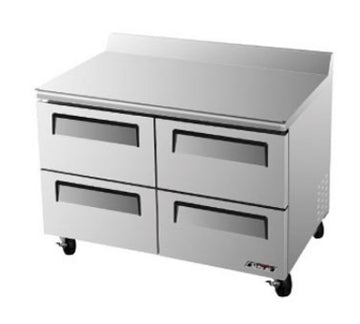 Turbo Air TWF-48SD-D4-N Worktop Freezer With 4-Drawers
