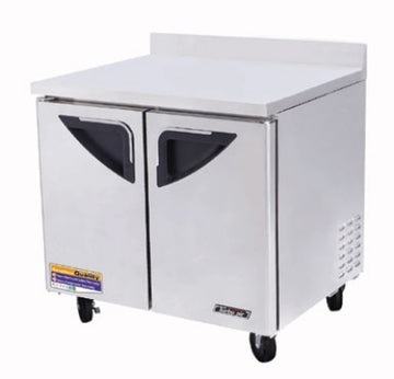 Turbo Air TWR-36SD-N6 Worktop Refrigerator With 2-Doors