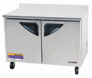 Turbo Air TWR-48SD-N Worktop Refrigerator With 2-Doors