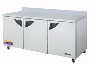 Turbo Air TWR-72SD-N Worktop Refrigerator With 3-Doors