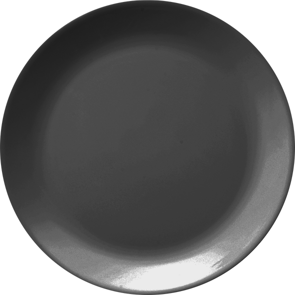 Melamine Urmi Plus Dinner Plate 7.3 inch, Black - 12/Case