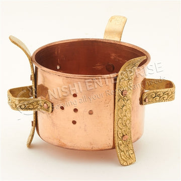 Copper Sigdi Warmer Stand -M