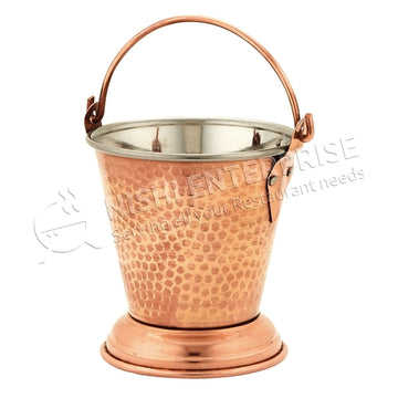 Gorgeous Copper and Stainless Steel Balti  # 1 (10 Oz.)