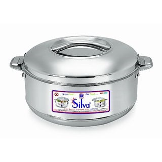 Stainless Steel Casserole - 10 Liters