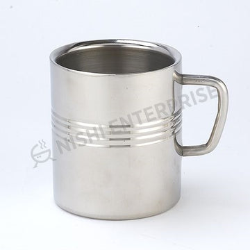 Stainless Steel Coffee Mug - 8 Oz.