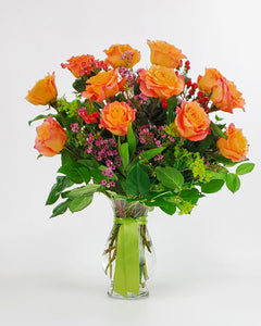 Copy of Premium Dozen Orange Roses