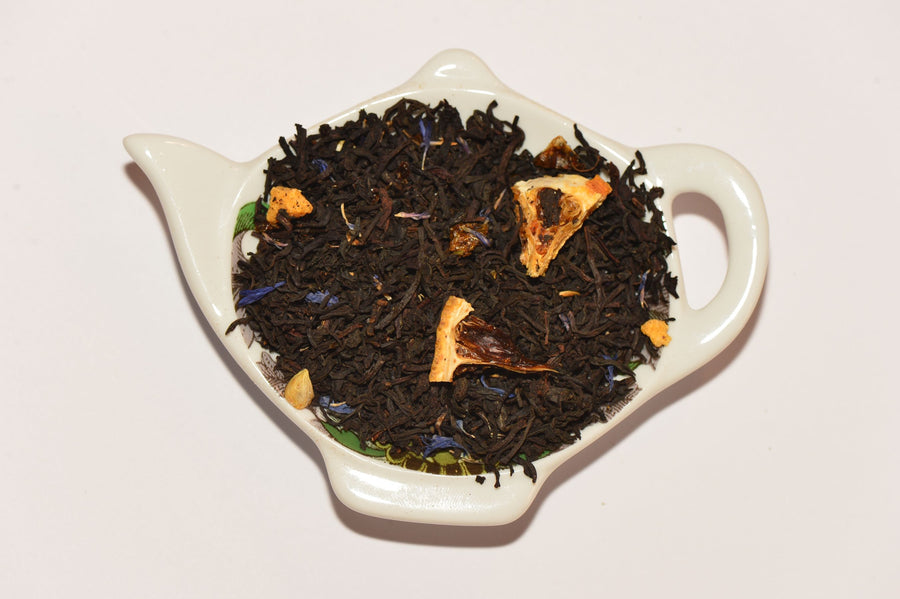 Black tea 'earl grey de luxe'