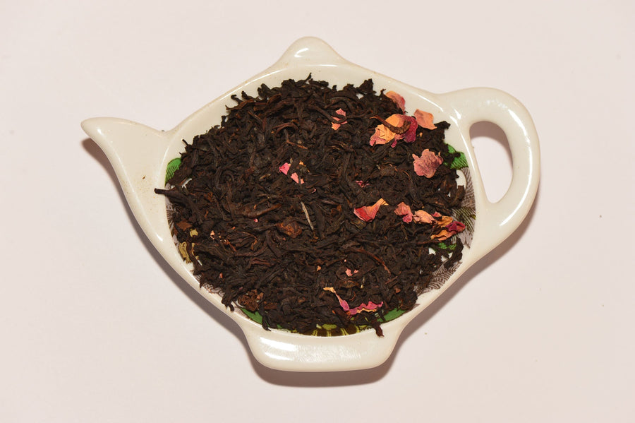 Black tea 'lotus'