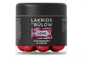 "Lakrids by Bürlow ""Strawberry & cream"" - Love collection"