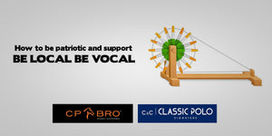 How to be patriotic and support Be Local, BE Vocal