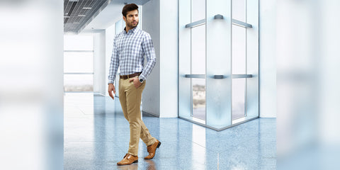 Here is how to look amazing in chinos