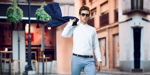 What Colour Pants should you wear with a White Shirt?