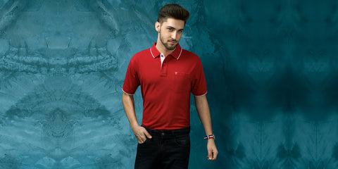 How to style solid polo t-shirts elegantly?