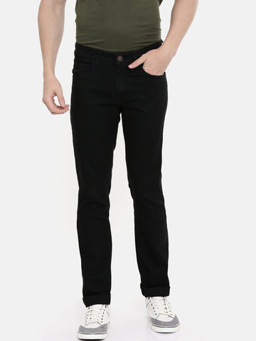 Men's Black Denim