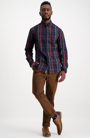 Trenton Shirt _ 111504 _ Red