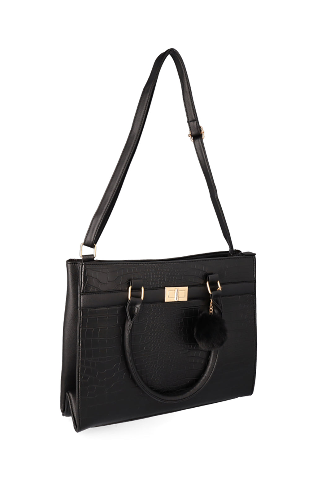 Surrey Smart Structure Tote _ 112476 _ Black