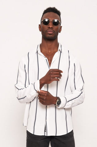 Wilcox Viscose Shirt _ 113377 _ White