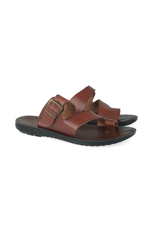 Columbia Side Ingot Toe Thong Sandal _ 113916 _ Tan