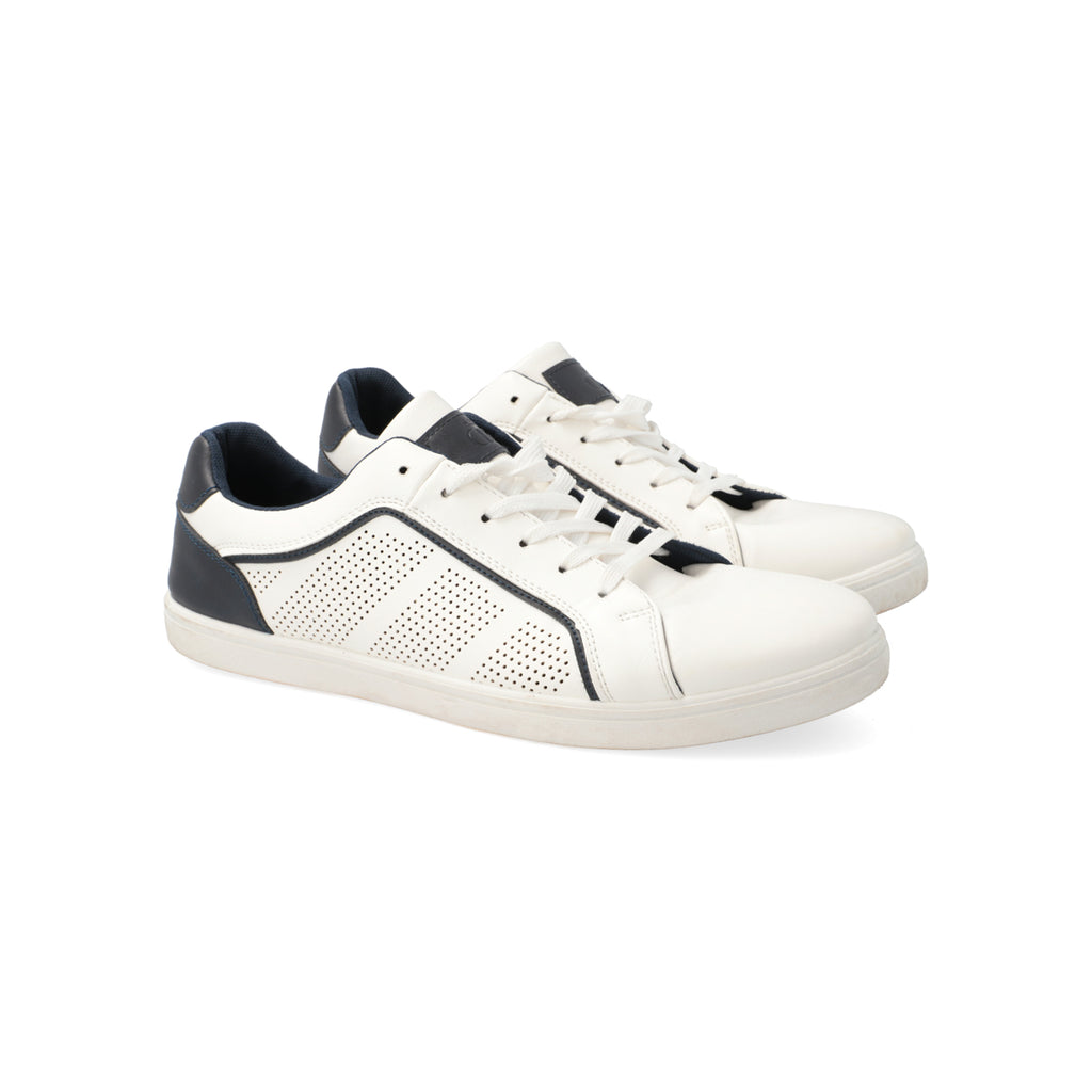 Camden Pu Lace Up Sneaker _ 113936 _ White