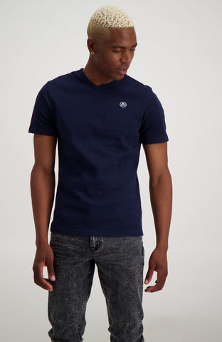 Lockwood Tee _ 114717 _ Navy