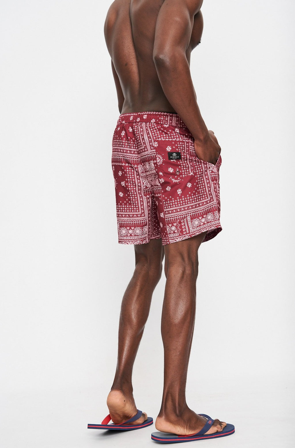 Timber Swim Short _ 114886 _ Red