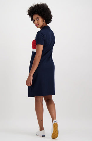 Leona Sporty Dress _ 114907 _ Navy