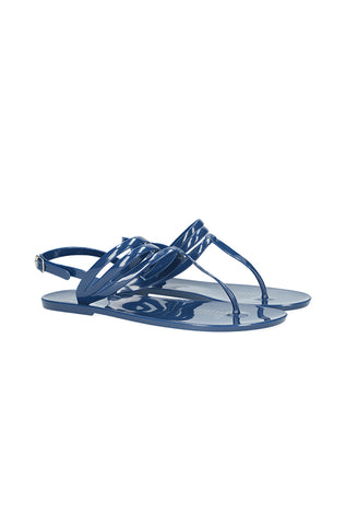 Melrose Sling Back Jelly _ 115712 _ Navy