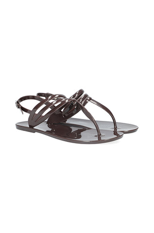 Melrose Sling Back Jelly _ 115713 _ Chocolate