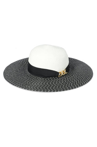 Morgan Wide Brim Hat _ 116035 _ Natural