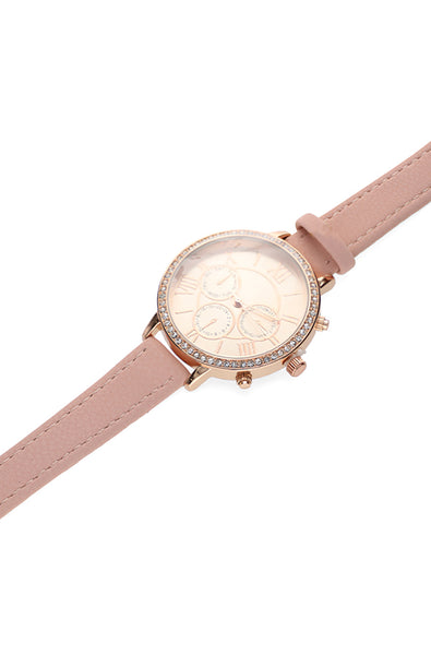 Lorraine Pink And Rosegold Watch _ 120166 _ Pink
